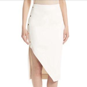 TED BAKER LONDON Yazmina Asymmetrical Pencil Skirt